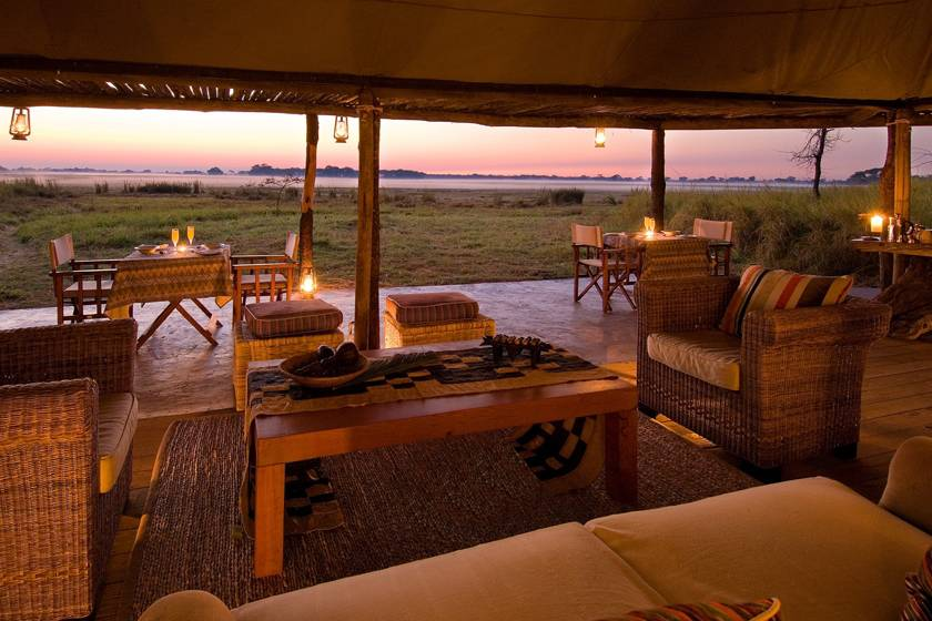 Busanga Bush Camp, Zambia - image by Dana Allen