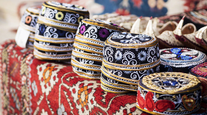 Traditional hats, Baku, Azerbaijan