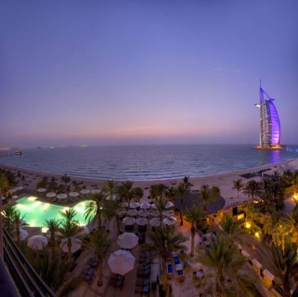 Pool view from Madinat Jumeirah