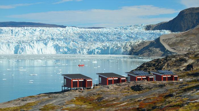 Glacier Lodge, Eqi Glacier