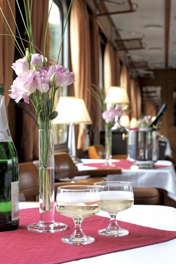 Restaurant car, Golden Eagle Danube Express