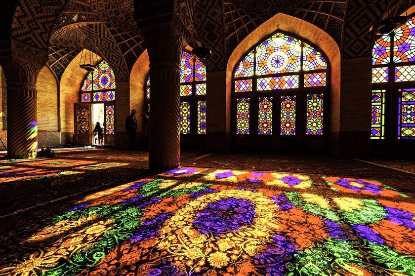 Mosque in Shiraz, Iran