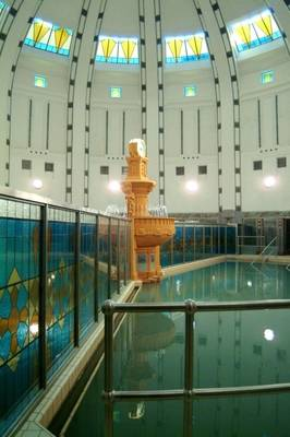 Treatment pools, Danubius Health Spa Resort Thermia Palace, Slovakia