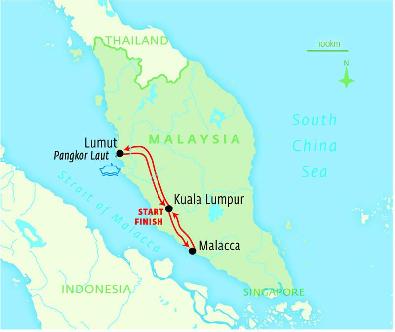 Kuala Lumpur, Malacca & Pangkor Laut