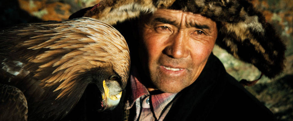 Kazak eagle hunter