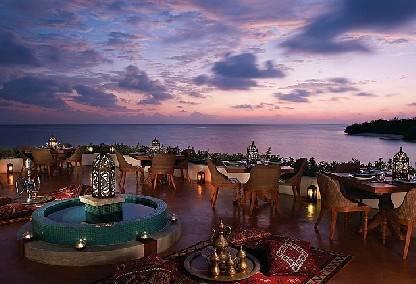 Al Bakarat restaurant at the Four Seasons