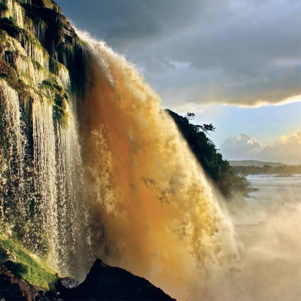 Waterfall Canaima Venezuela
