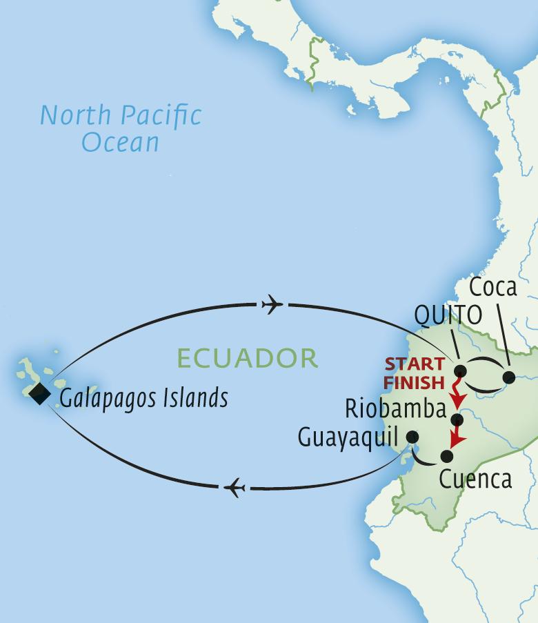 Grand Tour Of Ecuador & The Galapagos