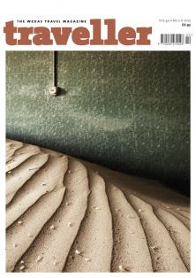 Traveller magazine cover image