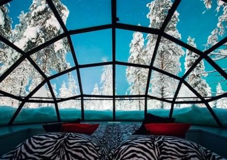 Hotel Kakslauttanen Glass Igloos