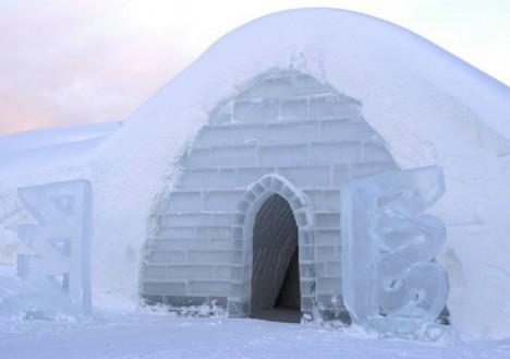 Snow Village, Lainio, Lapland, Finland