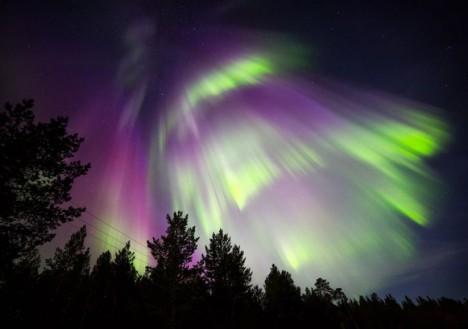 Northern Lights, Nellim Wilderness Hotel, Lapland, Finland