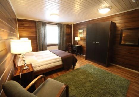 Hotel Room, Nellim Wilderness Hotel, Lapland, Finland