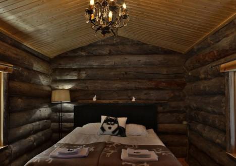 Honeymoon Log Cabin, Nellim Wilderness Hotel, Lapland, Finland