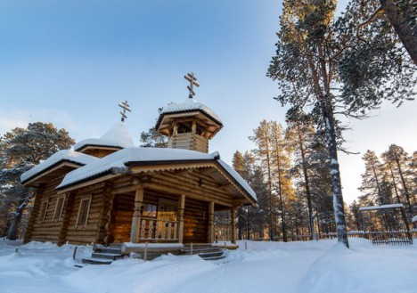 Church, Nellim Wilderness Hotel, Lapland, Finland